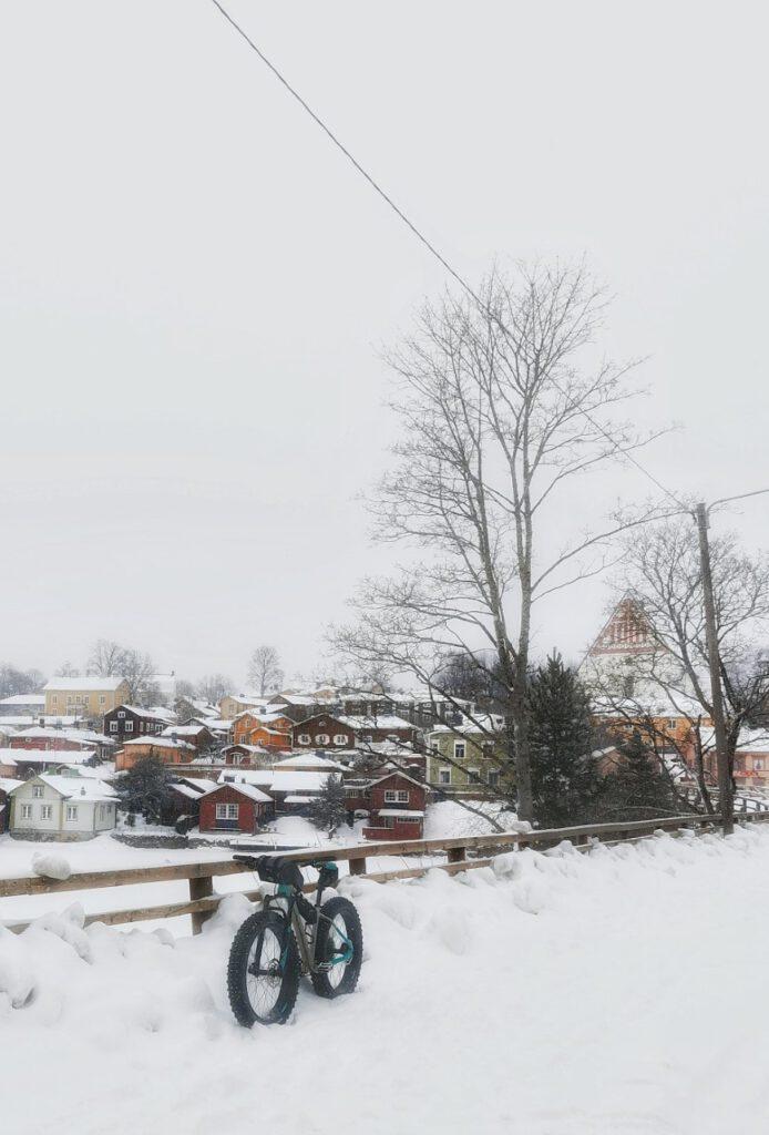Porvoo talvipyöräily 2